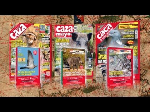 Revistas Federcaza, Caza Mayor y Caça y Cães de Caça Agosto 2017
