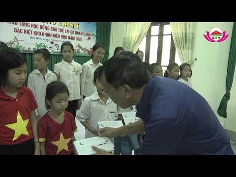 Quỳ Hợp: 25 học sinh nghèo được trao tặng 25 triệu học bổng