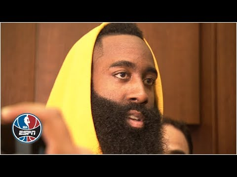 James Harden not overreacting to one Rockets' loss vs. Warriors | NBA on ESPN