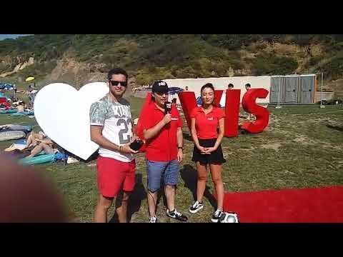 Number1 milyon beach fest'te Avis standında (видео)