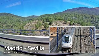Renfe, AVE 2140 / Madrid - Sevilla, part 2