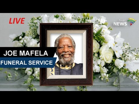 Veteran Actor Joe Mafela Funeral Service, 29 March 2017