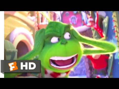 The Grinch (2018) - Can't Escape Christmas Scene (2/10) | Movieclips