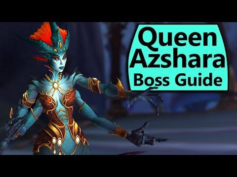 Queen Azshara Guide - Normal/Heroic Queen Azshara Eternal Palace Boss Guide