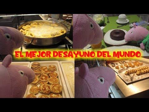 Peppa Pig el mejor desayuno del mundo y hace Aqua Zumba en la piscina  Vídeos Peppa Pig en español