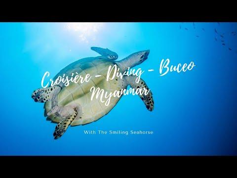 Croisière Birmanie - diving Burma - Buceo Birmania