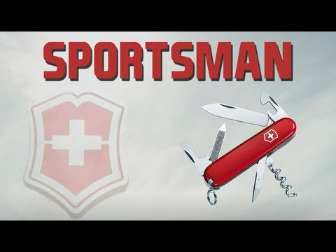 VICTORINOX SPORTSMAN - SWISS ARMY KNIFE REVIEW