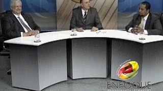 Nesta segunda-feira (5), no Jornal Enfoque, os jornalistas Humberto Challoub e Douglas Luan entrevistaram o presidente do...