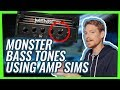 Dialing in huge metal bass tones using amp sims (w/ Forrester Savell)
