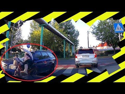 Potrącenie rowerzystki na przejściu dla pieszych – dostała 400 zł mandatu