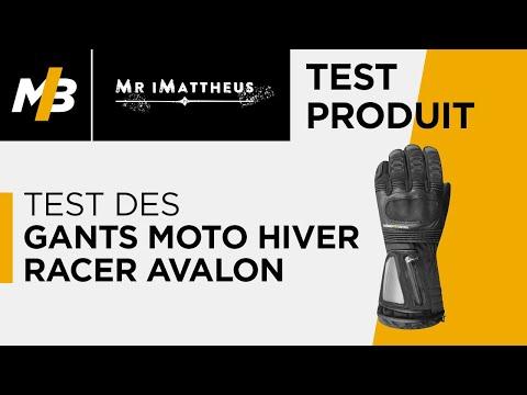 Test des gants moto hiver Racer Avalon, l'essai vidéo par Mr iMattheus