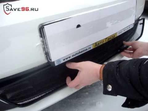 как снять решетку радиатора на киа сид 2010