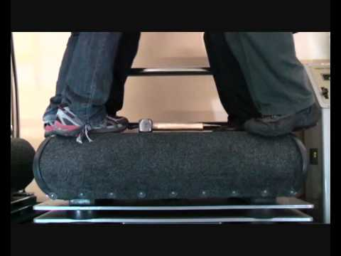 Vibration Training Machine  – Plate Test