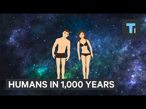 What humans will look like in 1 000 years