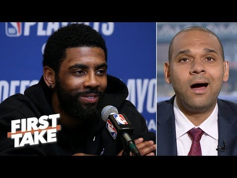 Letting Kyrie walk would be a major mistake for the Celtics - Jared Dudley | First Take