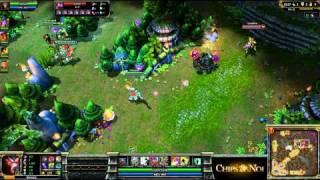 (HD064) 5c5 ALS vs Dignitas part 3- League of Legends Replay [FR]