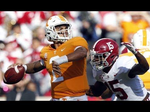 Alabama vs Tennessee 2018 highlights