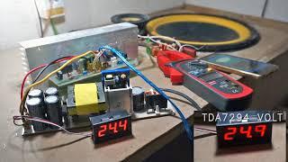 Download Lagu TDA7294 & TDA7293 Power Amplifier test @ 12inch Subwoofer Mp3