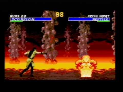 mortal kombat 3 megadrive game genie