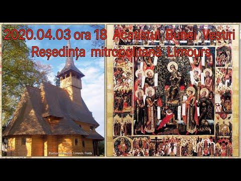2020.04.03 DIRECT 18h Denia Acatistului Bunei Vestiri, LIMOURS