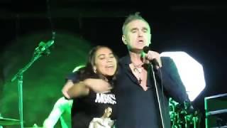 Morrissey - Shoplifters of the World Unite - LIVE 6th Row Denver, CO 20NOV17