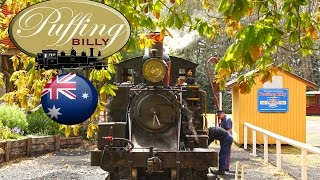 Belgrave Australia  city photos : Australian Steam Trains: Puffing Billy Australia - Belgrave to Gembrook
