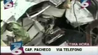 Accidente fatal 731 en Tegucigalpa  canal 6-CIN Honduras