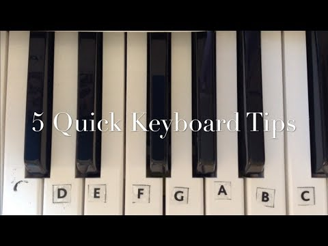 Playing the Piano: Tips and Advice for Beginners