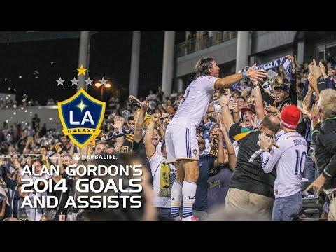 Video: HIGHLIGHTS: ALL of Alan Gordon's 2014 GOALS & ASSISTS