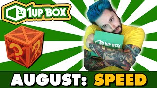 1UP Box Opening | SPEED | August 2016 Theme w/Ace Trainer Liam by Ace Trainer Liam