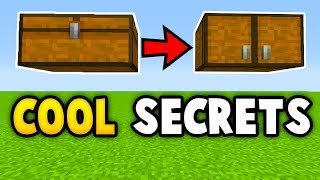 Minecraft 5 SECRET THINGS YOU CAN MAKE (Ps3/Xbox360/PS4/XboxOne/WiiU)