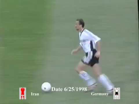 Iran Vs Germany Group F World Cup 1998