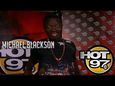 Michael Blackson on Cipha's Comedy Corner??