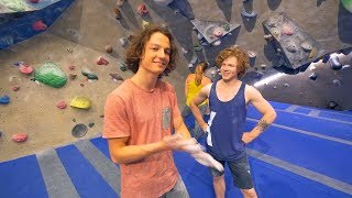 One Of The Original Crew Members Is Back - Axel! by Eric Karlsson Bouldering