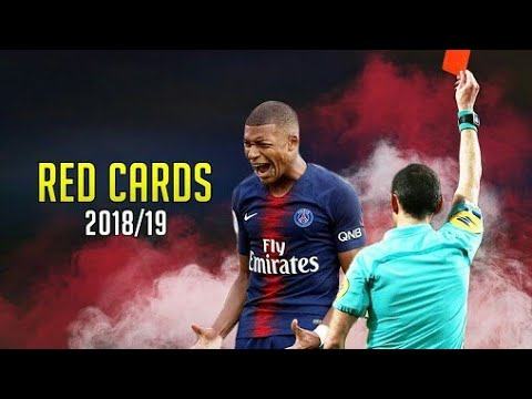 Football Red Card and Controversial 2018-19