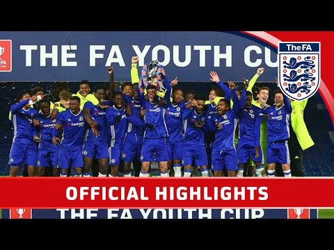 Chelsea 5-1 Man City - 2016/17 FA Youth Cup Final Second Leg | Official Highlights