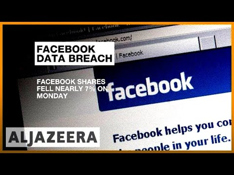 Facebook loses 40bn in share value over user data scandal  Al Jazeera English