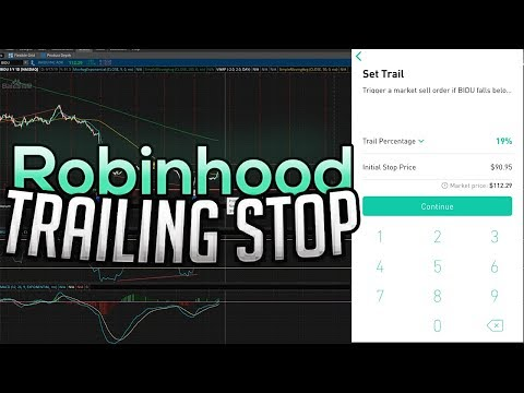 The Robinhood Trailing Stop Loss is Here