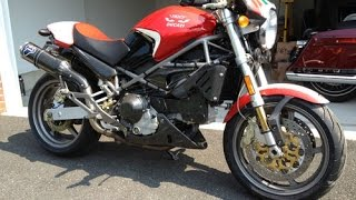 10. Ducati Monster S4R exhaust sound and acceleration