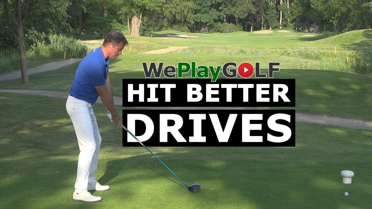 Get more out of your driver - pre shot routine exercise