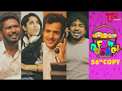 Fun Bucket | 56th Copy | Funny Videos | by Harsha Annavarapu | #TeluguComedyWebSeries