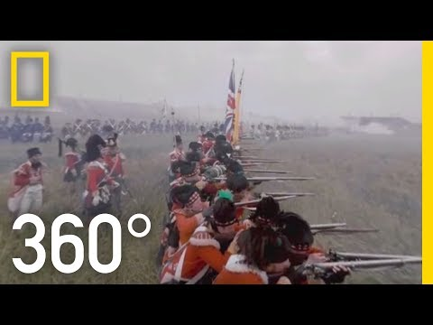 The Battle of Waterloo in Virtual Reality