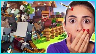 Mutant Yaratıklar Minecraft Hayatta Kalma Bölüm 3 Oyun Kent