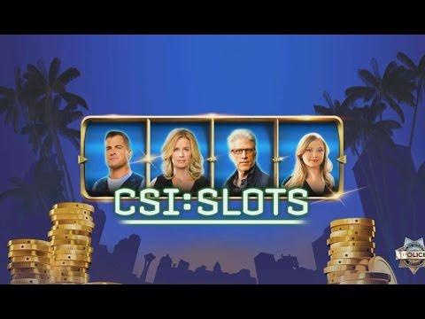 CSI: Slots - Android Gameplay HD