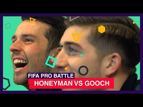 Video: FIFA PRO BATTLE: HONEYMAN VS GOOCH