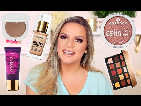 CHIT CHAT / GET READY WITH ME! TRYING NEW PRODUCTS | Casey Holmes
