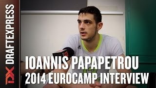 Ioannis Papapetrou Interview at 2014 adidas EuroCamp