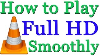 In this short tutorial you will learn easy steps to play full hd videos smoothly in vlc