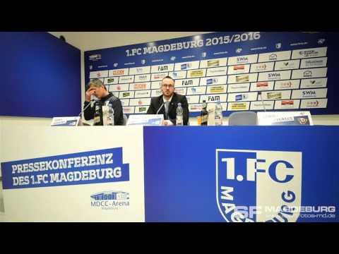 Video: Pressekonferenz - 1. FC Magdeburg gegen SG Dynamo Dresden 2:2 (1:0)