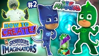 Want to play as GEKKO & CATBOY from PJ MASKS on the DISNEY CHANNEL but in Skylanders Imaginators, now you can! No Creation Crystals Needed with the SKYLANDER...